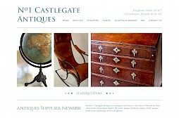 Castlegate Antiques Website