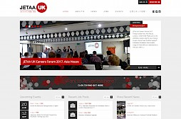 JETAA UK Website Design
