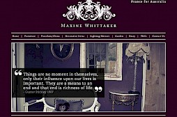 Maxine Whittaker Website