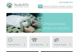 Rushcliffe Vets Website
