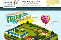 Hope House School Website