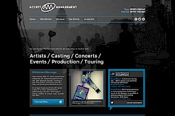 Accept Management Website