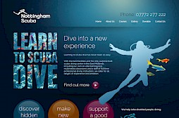 Nottingham Scuba Website